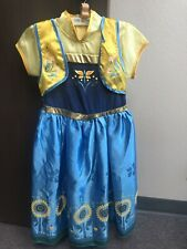 Costume/Dress Princess Anna Frozen Summer Fever, Cotton Upper, Size Medium