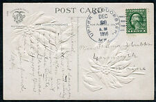 Postcard - UPPER GLOUCESTER ME TO YARMOUTH ME - DEC 23 1916 CHRISTMAS - S6387