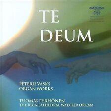 Te Deum: Organ Works by Peteris Vasks Super Audio Hybrid CD (CD, Feb-2012, Alba)