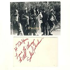 Soko Richardson W John Mayall's Bluesbreakers * Autograph to tide Harrison 1974