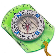 10 Declination Adjustable Map Compass Camping Scouts Survival Hiking Boy Girl