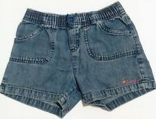 ♥Pre-loved Authentic Oshkosh Bgosh baby girl denim shorts size 8