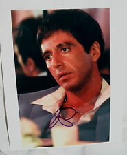 AL PACINO SIGNED 8X10 COLOR PHOTO FROM THE FILM SCARFACE
