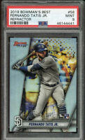 2019 Bowman's Best #58 FERNANDO TATIS JR Refractor Rookie RC SP PSA 9