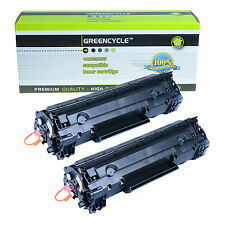 2PK 78A CE278A Toner Cartridge Compatible For HP LaserJet P1606dn M1536dnf New