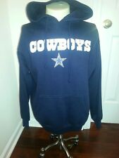 DALLAS COWBOYS Adult Hoody Sweatshirt X-Large Navy Blue (XL) New with Tags NFL