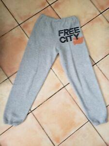 Free City Life Nature Love heather gray grey sweatpants