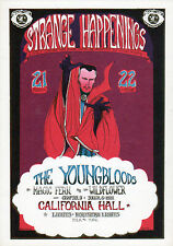 STRANGE HAPPENINGS Youngbloods Tour HAND BILL 1967 DR STRANGE Marvelmania RARE