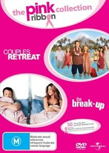 Pink Ribbon Collection DVD - Couples Retreat  + The Break-Up