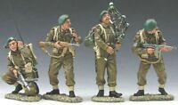 KING & COUNTRY D DAY 1944 DD052 BRITISH COMMANDO LORD LOVAT COMMAND GROUP MIB