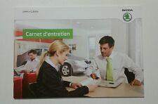 Skoda Serviceplan Carnet d' entretien 11/2012 French //00113