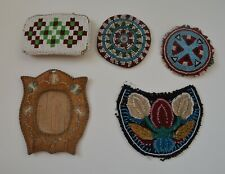 Nice OLD American Indian  beaded items group