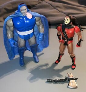 1985 Kenner Super Powers DARKSEID & STEPPENWOLF figures-both 100% complete