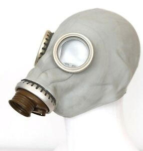 Authentic Soviet Russian GAS MASK GP-5  ONLY GRAY New Genuine Vintage