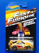 RARE 2015 Hot Wheels FAST & FURIOUS JDM GOLD 1994 TOYOTA SUPRA - Mint on card