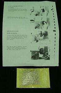 3M Bow Pins w/ Instructions, NEW fits S-71, S-72, S-81