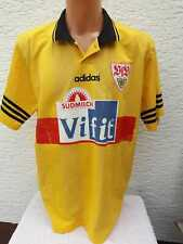 VfB Stuttgart Trikot adidas Matchworn 1995/96 HABER gelb Third Jersey Shirt XL