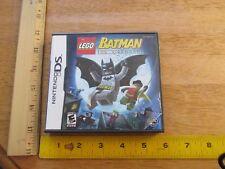 Lego Batman DS Nintendo: The Videogame w/ Instruction Booklet 2006