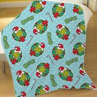 The Grinch Christmas Coral Fleece Blanket