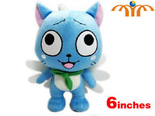 Plüschtier Katze Happy Fairy Tail 15cm