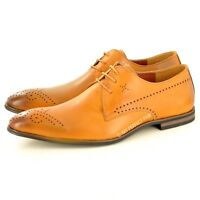 New Mens Winkle Pickers Brogue Formal Lace Up Office shoes UK Size 7 8 9 10 11