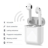 Wireless Bluetooth 5.0 Ear Pods with Touch Control & Wireless Charging (2nd Gen)