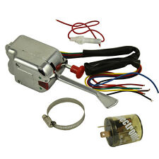 Universal 12V Chrome Street Hot Rod Turn Signal Switch For GM FORD With Flasher