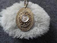 Vantage Wind Up Vintage Necklace Pendant Watch