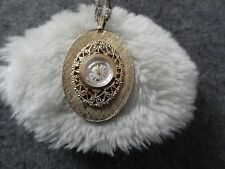 Vantage Wind Up Vintage Necklace Pendant Watch