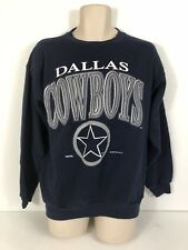 Vintage 1993 Dallas Cowboys Men's XL Blue Sweatshirt 50/50