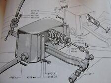 levier de Pédale de freins avec douilles  PEUGEOT J7 - ref 450127