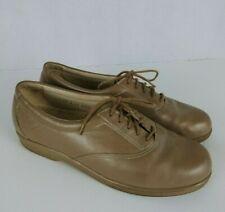 "SAS Shoes Tripad Womens ""Whisper"" Size 7.5N Beige Leather Comfort Oxford"