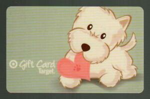 TARGET ( Australia ) Dog with Heart 2011 Gift Card ( $0 )