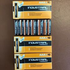 30 Duracell AAA Industrial Batteries Procell Alcaline lr03 mn2400 Longest Expiry