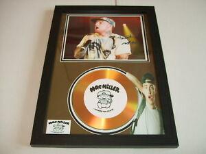 MAC MILLER   SIGNED  GOLD CD  DISC