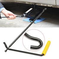 Auto Car Garage Tire Wheel Lug Wrench Scissor Jack Crank Speed Handle Lift Tool