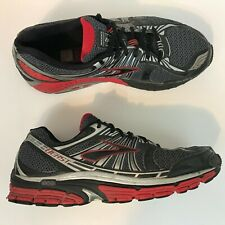 Brooks Beast 14 Mens Running Shoes Size 12 EE (4E) Gray/Black/Red