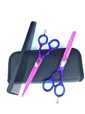 5.5 Pro Hair Cutting Thinning Scissors Set Shears Barber Salon Hairdressing