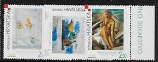 CROATIA SC 505-7 NH issue of 2002 - MODERN ART