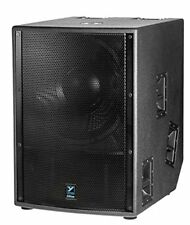 Yorkville LS2100PB 21in 2400W Powered Subwoofer Elite Painted Birch