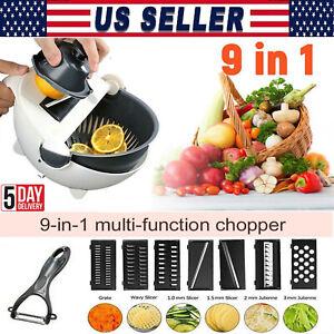 Kitchen Vegetable Cutter Manual Grater Food Fruit Chopper Slicer Multi-function