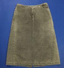 Penny black gonna jeans vita alta grigio hot usato w28 tg 42 skirt studs T2986