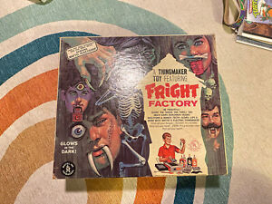 1966 Mattel Thingmaker Toy featuring Fright Factory