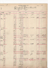 1919 CLAIRFIELD JELLICO COAL CO CAMPBELL CO TENN McCOMB SUPPLY JELLICO TN 9x11
