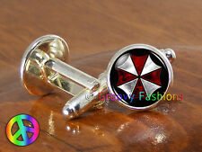 Resident Evil Game Gamer Gaming Mens Cufflinks Cuff Links Jewelry Gift Gifts