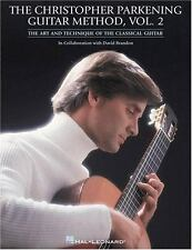 The Christopher Parkening Guitar Method Volume 2 Classical Guitar Book Bach