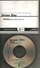 GREEN DAY Holiday w/ CLEAN RADIO EDIT 2004 USA MINT PROMO DJ CD Single
