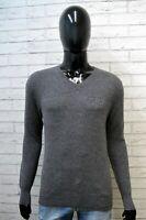 GUESS Uomo Taglia XS Maglione Grigio Uomo Maglia Cardigan Pullover Sweater Man