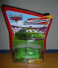 Mattel Disney Pixar Car Movie world race rama Edwin Kranks 72 New