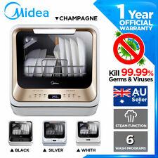 MIDEA Benchtop Mini Portable Dishwasher Baby Care Cleaner Virus Kill No Plumbing